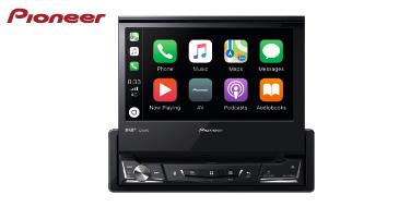 PIONEER AVH-Z7200DAB: 1-DIN Multimediasystem mit DAB+, Apple CarPlay & Android Auto