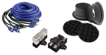 Car Audio Zubehür und Kabel